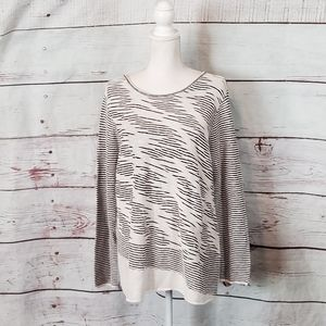 Nic + Zoe Textured Top Size XL NWT